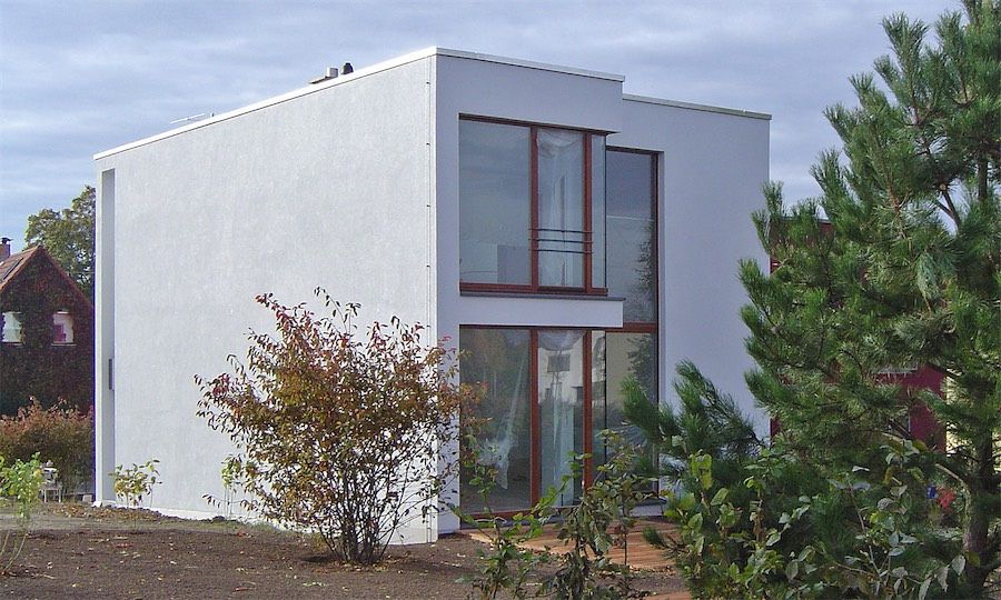 Neubau Niedrigenergiehaus am Horn