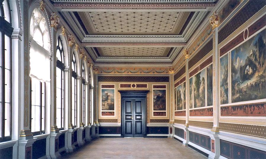 Neues Museum, Weimar, Innenansicht