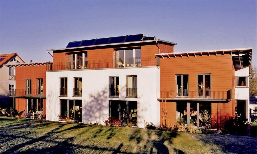 Neubau Passivhaus-Wohnanlage in Weimar
