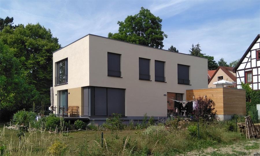 Zweifamilien-Passivhaus G, 2014 Weimar